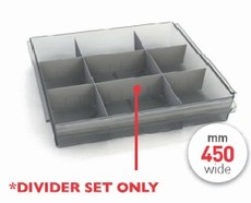 FW9082 Clear Tray Dividers